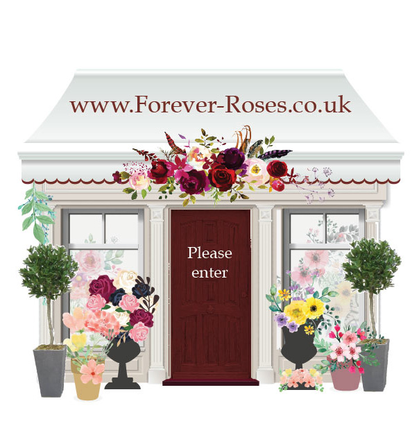 Forever Roses Uk Personalised Real Rose Preserved In Glass